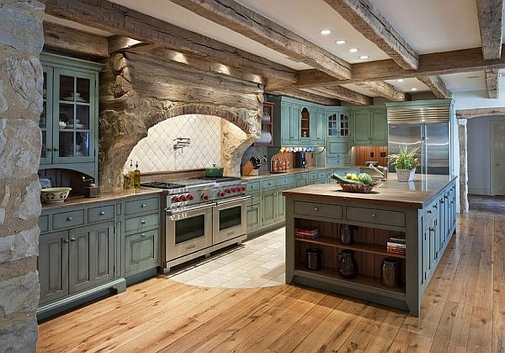 modern-vintage-farmhouse-kitchen
