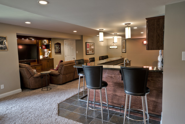 outstanding transitional decor