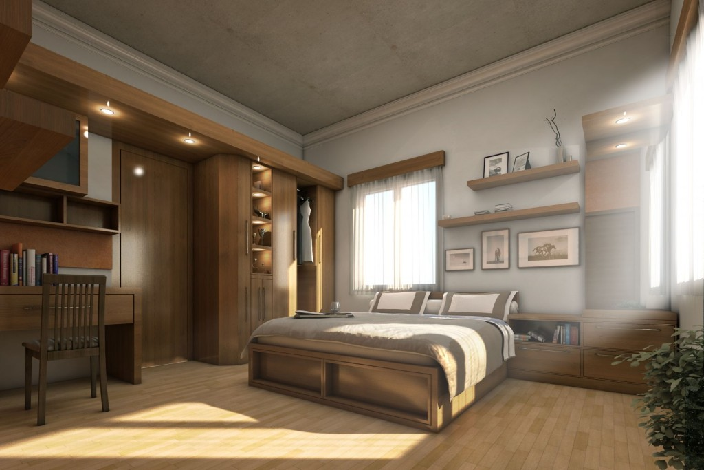 rustic-bedroom-design