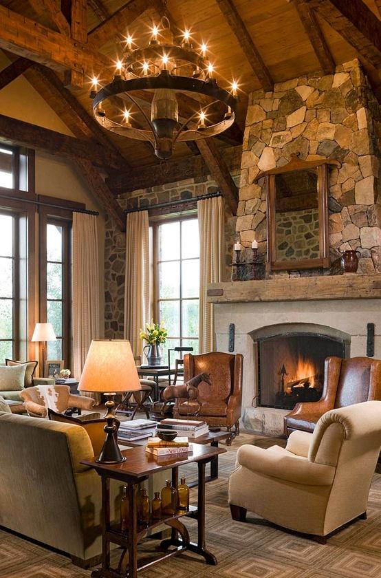 rustic-livingroom-contemporary
