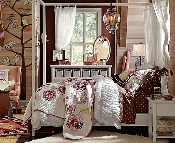 teen-girls-bedroom-bohemian