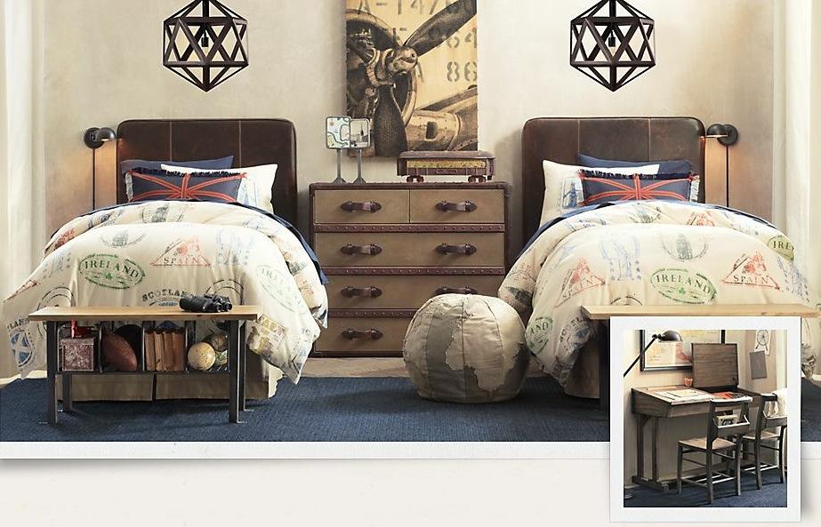 travel-themed-kids-bedroom-stunning-treasure-trove-of-traditional-boys-room-decoration-2238