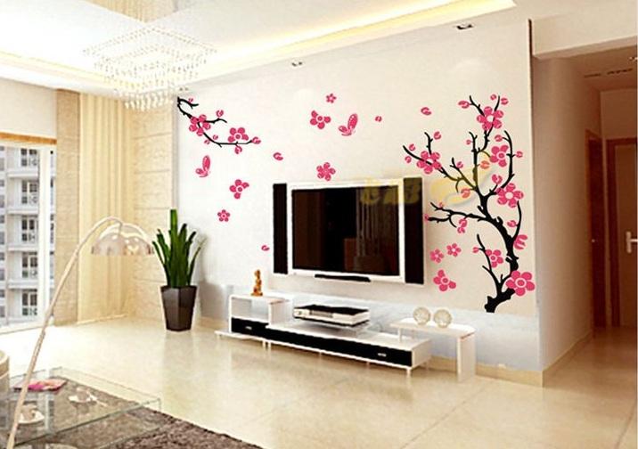 wallpaper-home-sticker-beauty-Peach-blossom