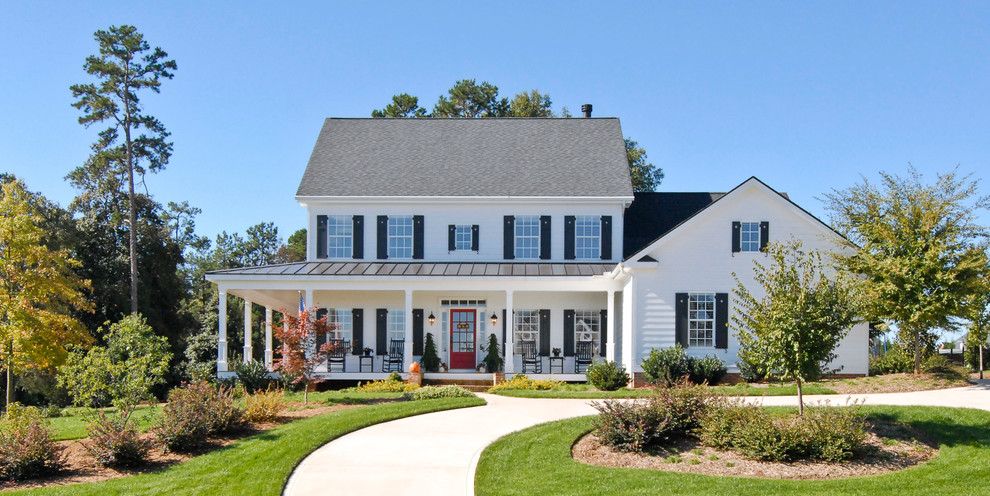 x-video-rocker-pro-series-black-Exterior-Farmhouse-with-columns-contemporary-farmhouse-covered-entry-covered-porch-curved-walkway-dutch-gable-roof