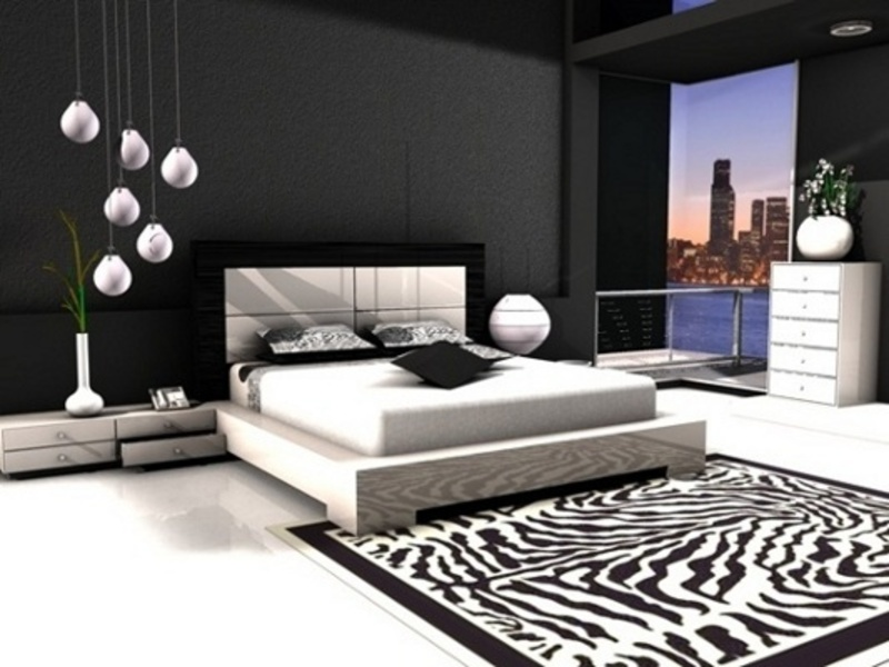 black and white bedrooms, bedroom