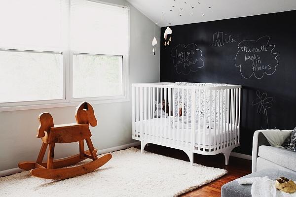 Black-and-white-nursery-idea