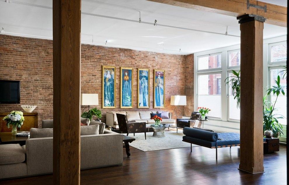 Brick-Wall-Studio-Apartment-