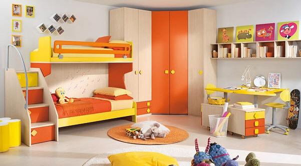 Citris-flavored-Bedroom