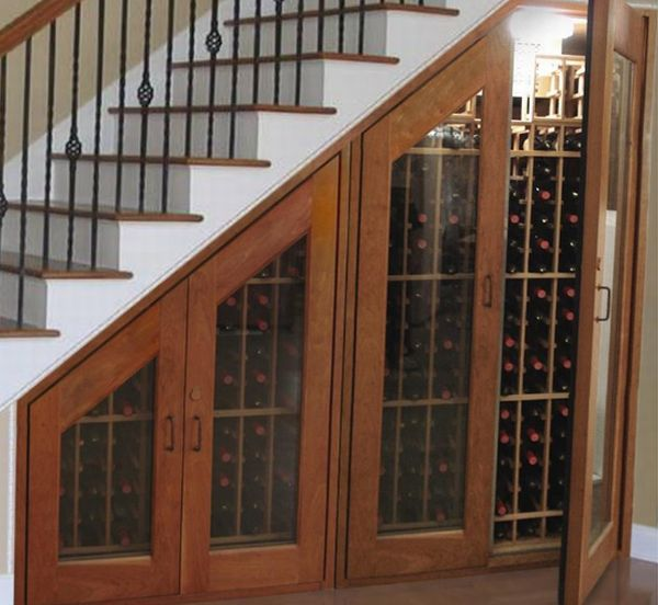 Cupboard-for-Wine-under-Stairs