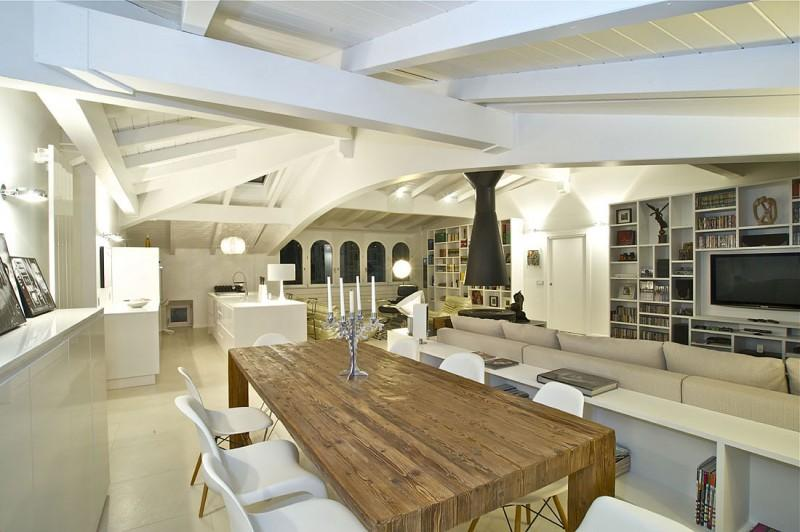 Delightful-And-Classy-Dining-Area-Sophisticated-Modern-Penthouse-Design