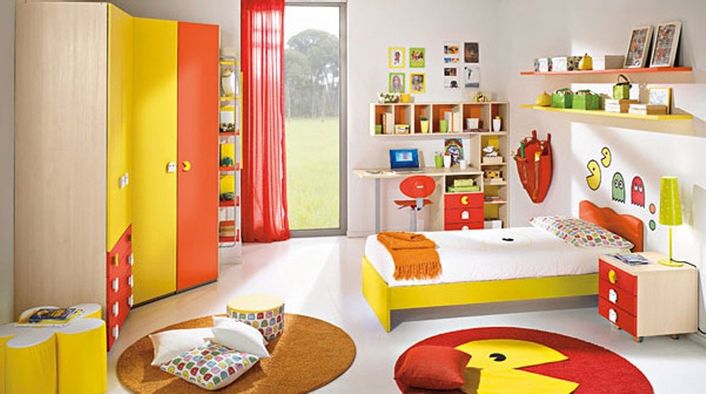 Pac-Man-Bedroom