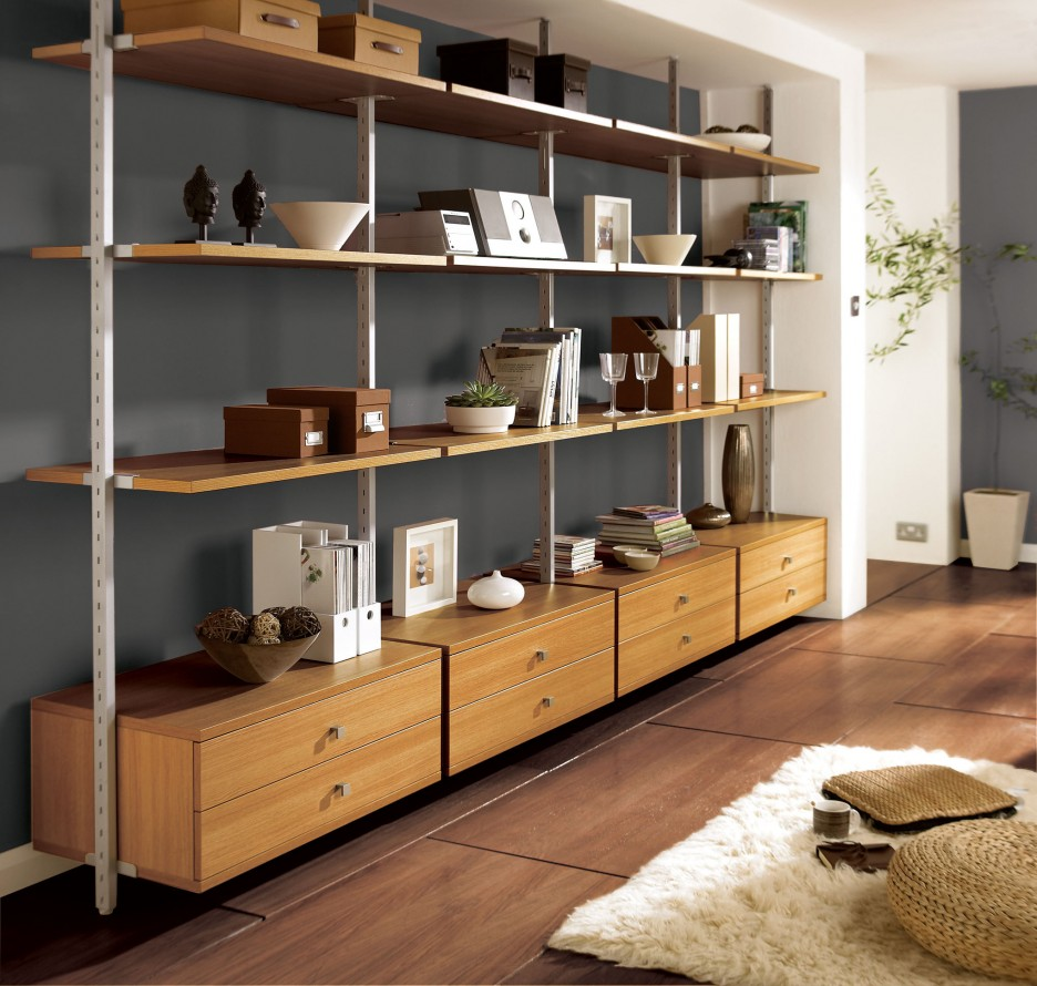 Stunning-Modular-Shelving-Units-Applied-In-Living-Room