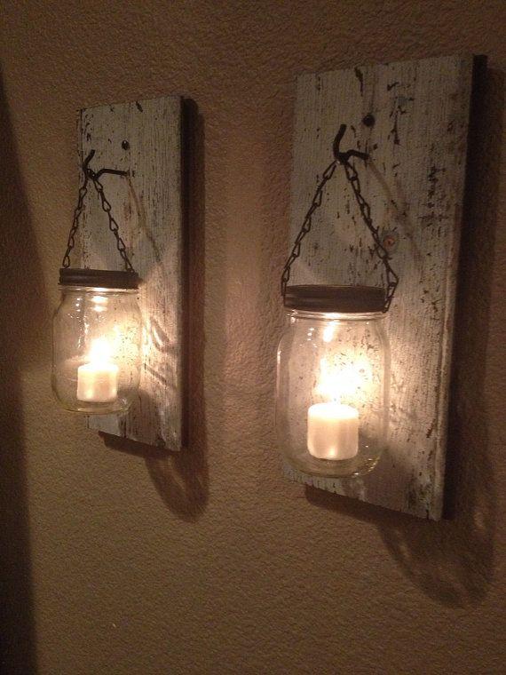amazing wood candle holder