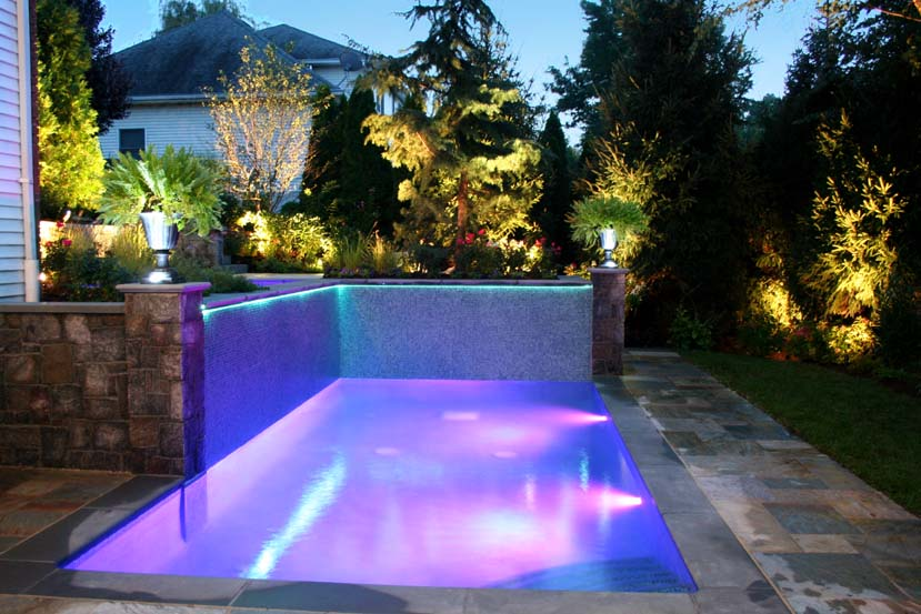 contemporary-fiber-optic-rope-lights-landscape-inground-pool-