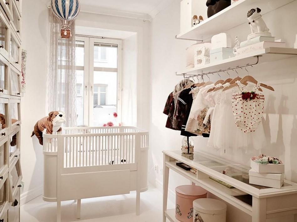 excellent-apartment-scandinavian-room-wooden-white-baby-nursery