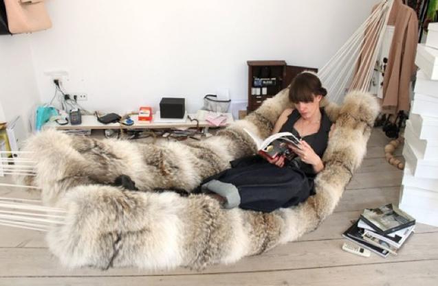 furry-hammock