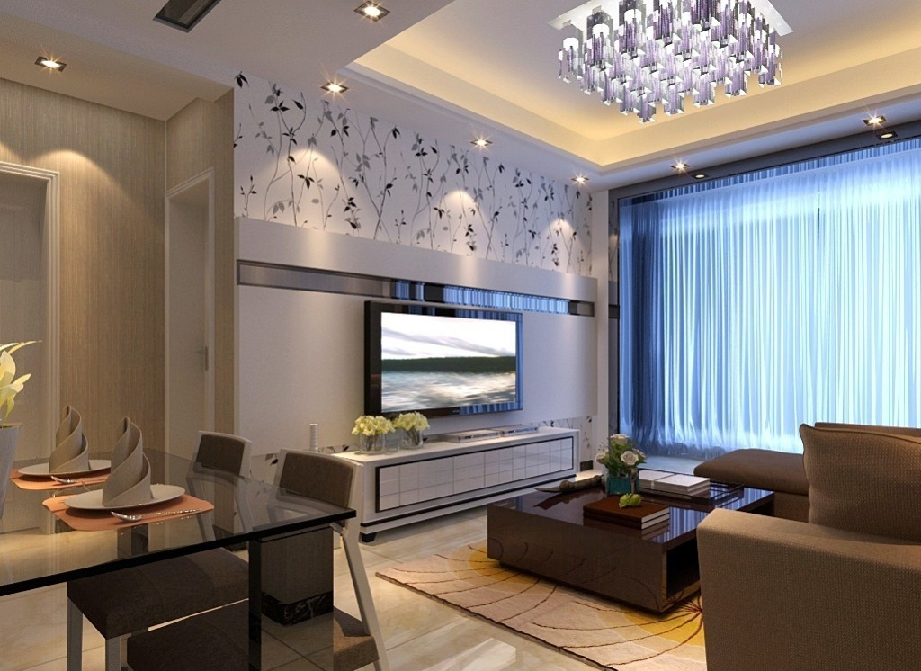 licious-modern-pop-ceiling-designs-for-small-living-room-with-dining-room-combo
