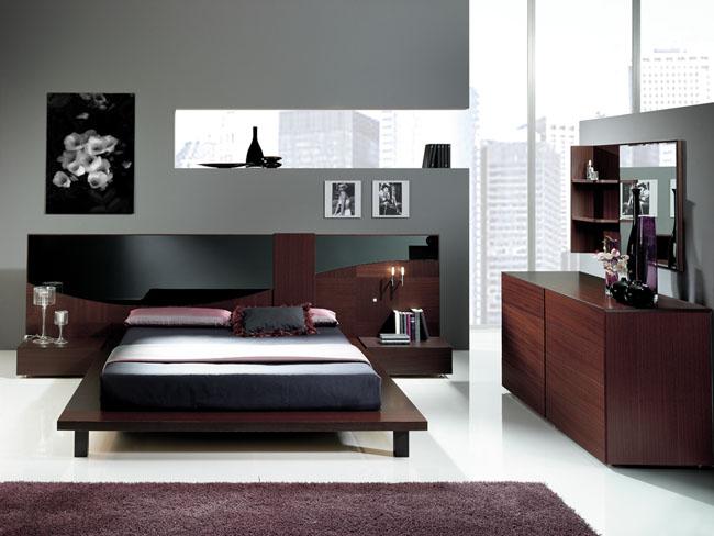 nodern bedroom stye