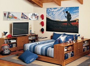20 Awesome Teenage Boys Room Designs