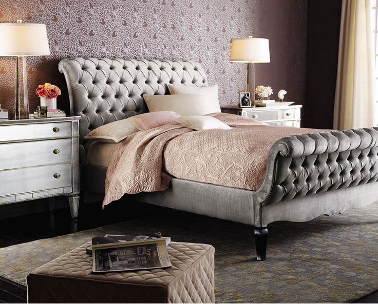 Bedroom With Sleigh Beds _