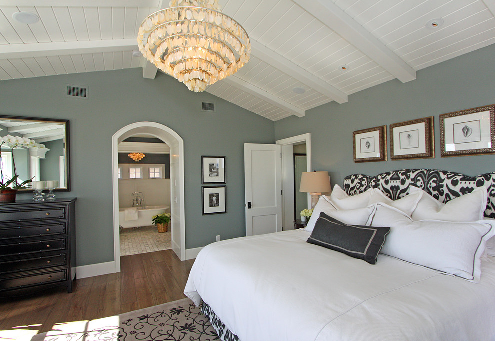 Bright-Shell-Chandelier-look-Orange-County-Traditional-Bedroom-