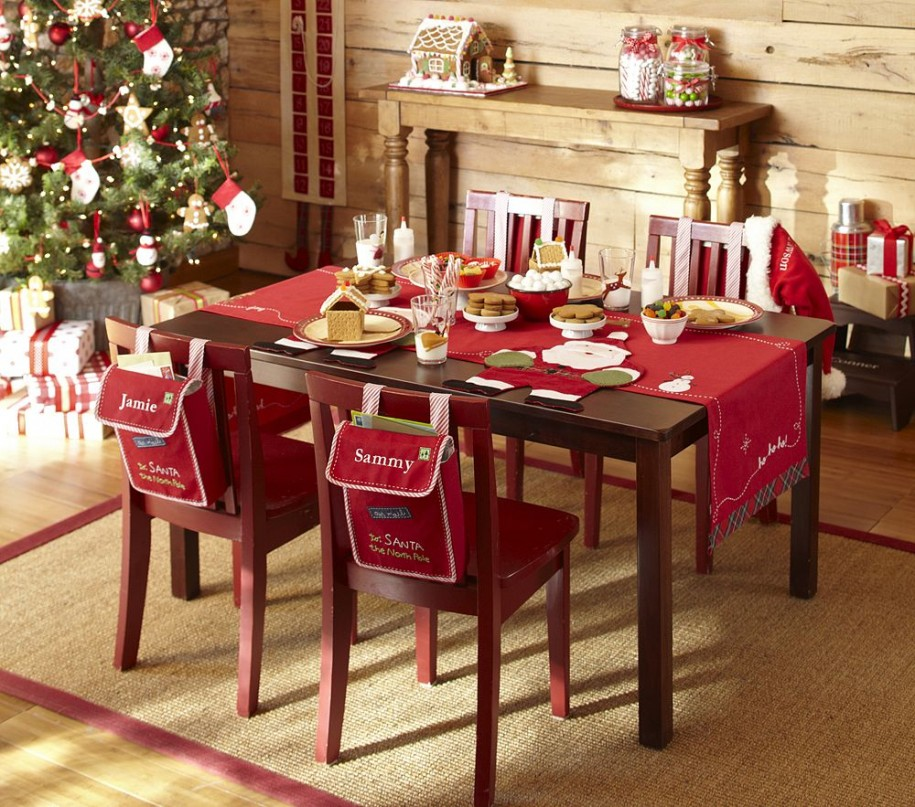 Charming-Dining-Room-Ideas-with-Christmas-Table-Decoration