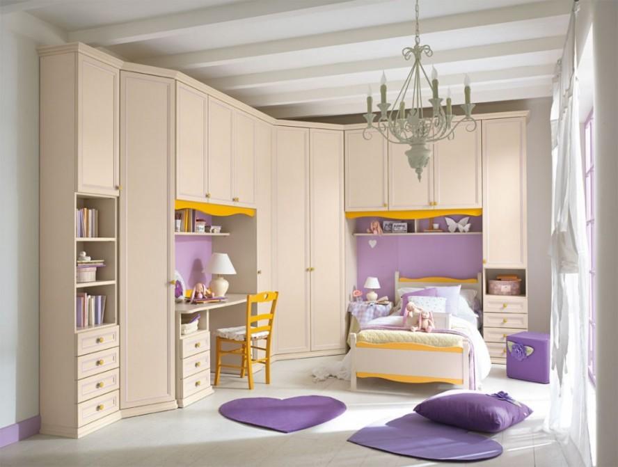 Cute-Luxury-Girl-Bedroom-Pretty-Chandelier-Large-Kids-