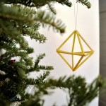 9 Super Simple Modern DIY Christmas Decorations
