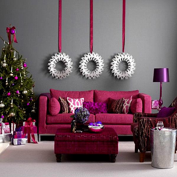 Jewel-toned-modern-Christmas-decorations