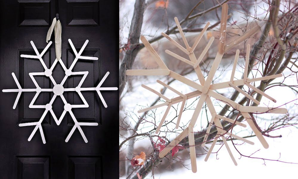Minimalist-Snowflake-Christmas-Decoration-Made-from-Popsicle-Sticks