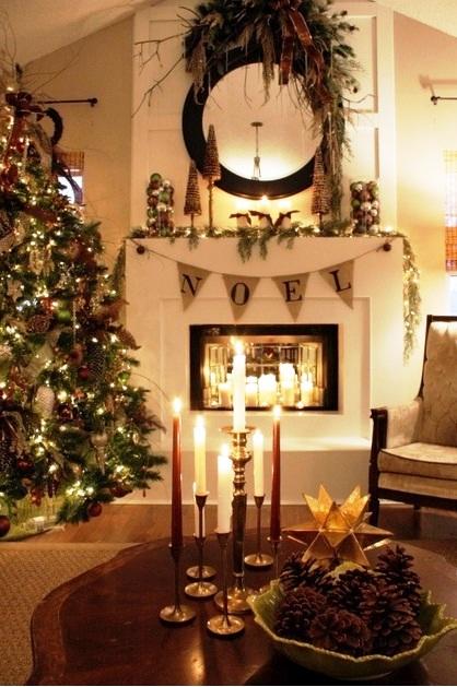 Noel-Christmas-Fireplaces-Decoration-Ideas