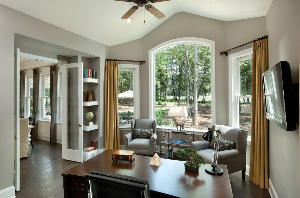 Stunning-Home-Office-Traditional-design-ideas-