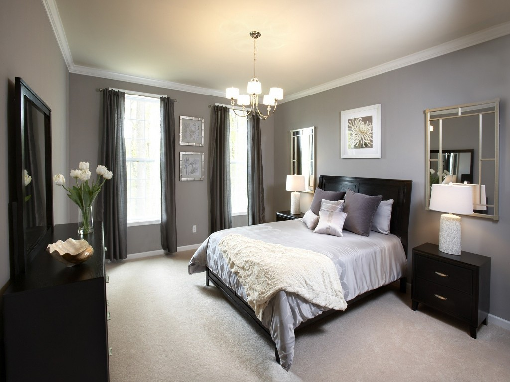 bedroom-gray-painted-bedroom-wall-combined
