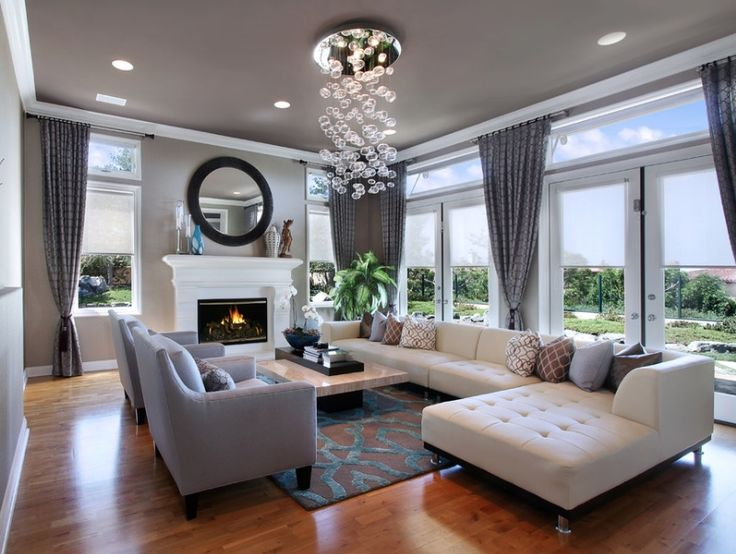 bright and beautiful living space