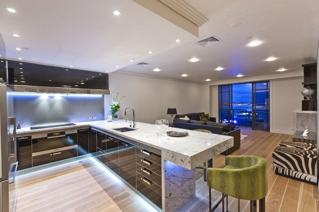 home-designing kitchen ideas marble design