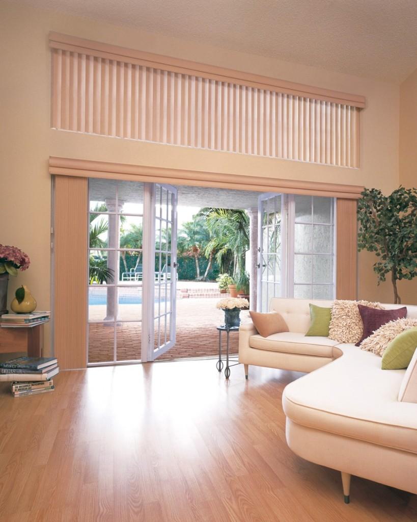 interesting-contemporary-vertical-blinds-door-white