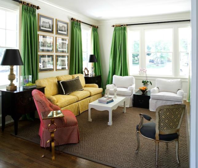 kelly-green-velvet-curtains-