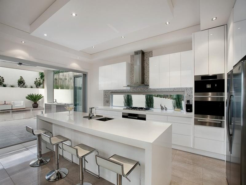 kitchensideas with marble stand