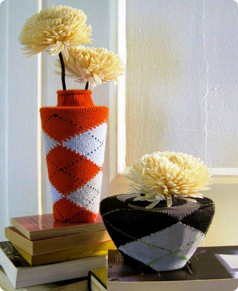 sock-vases