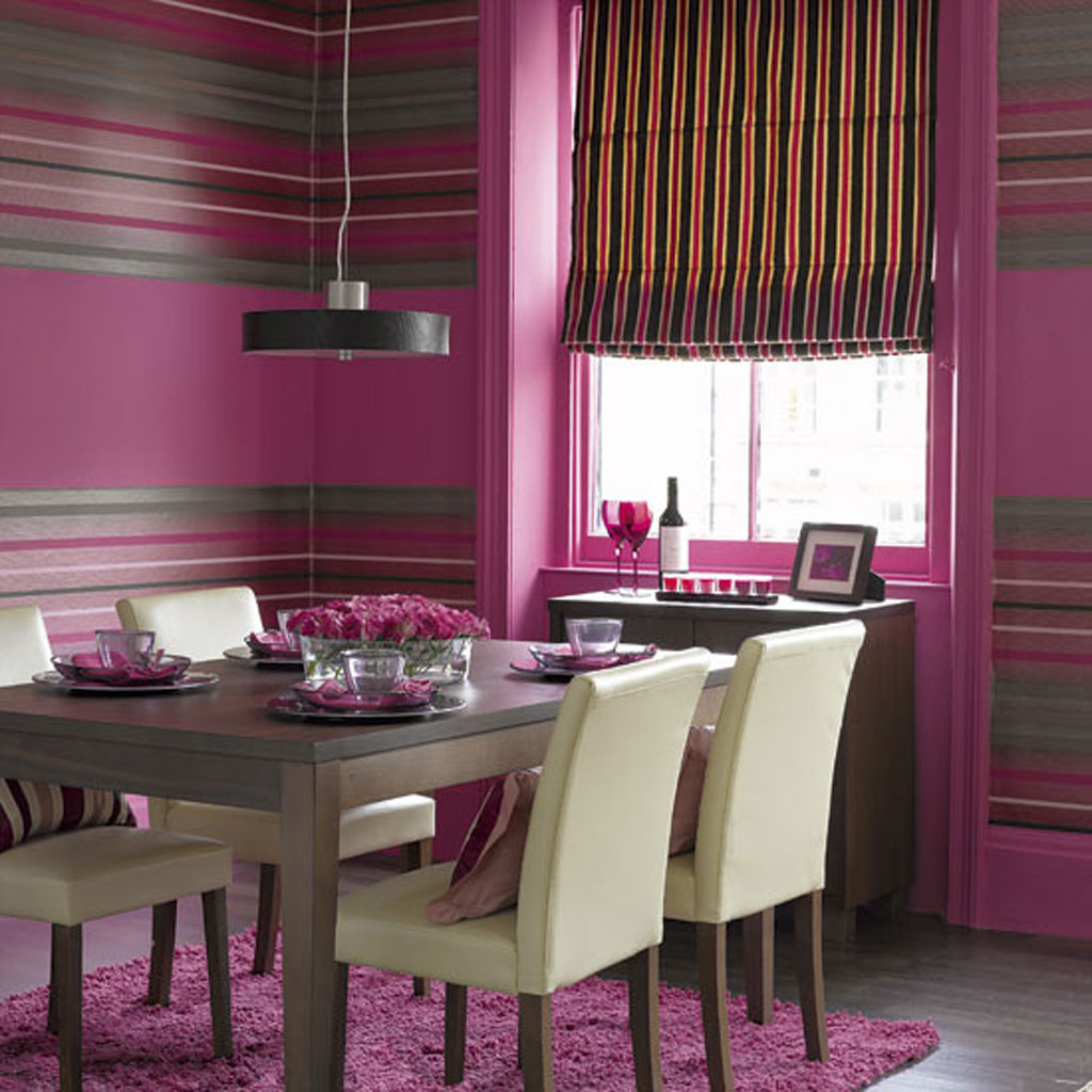 Beautiful-Kitchen-with-a-Pink-Color-for-beautiful-dining-room-kitchen