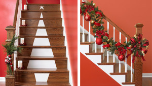 21 Best Ways to Decorate Your Stairs in This Christmas