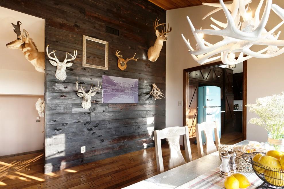 antler-chandelier-Dining-Room-Rustic