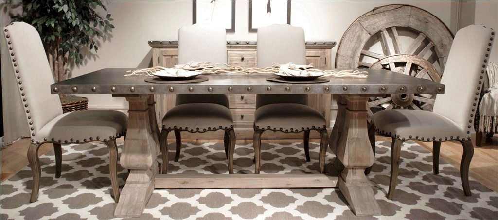 classic-deluxe-trestle-furniture-dinning-table-idea-