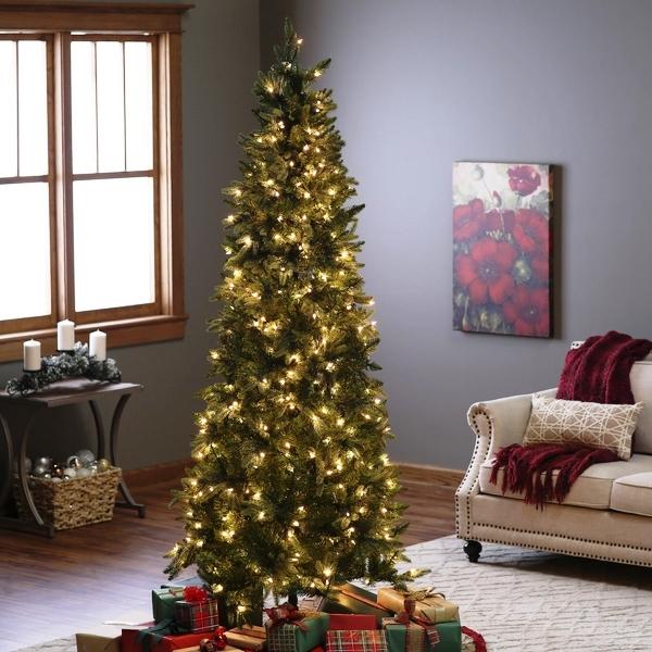 pencil-christmas-tree-ideas-pre-lit-christmas-trees-home-decoration-ideas