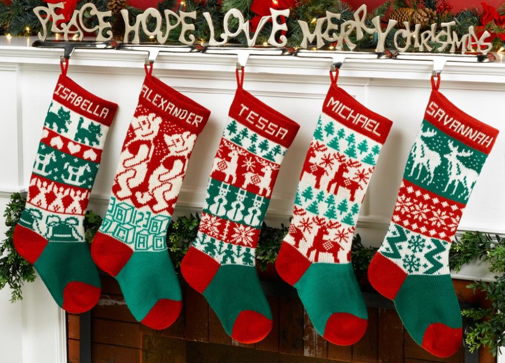 wool-hand-made-christmas-stockings