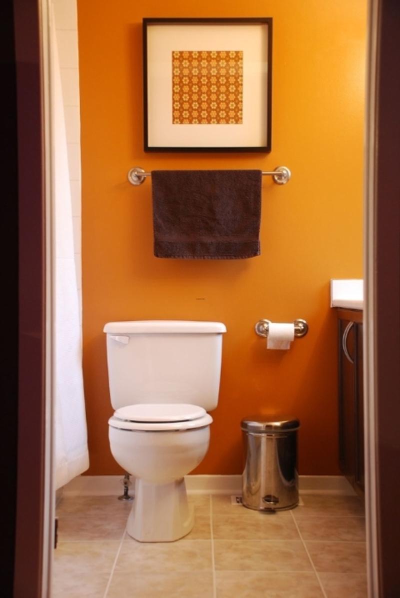 tiny modern bathroom, bathroom, modern design