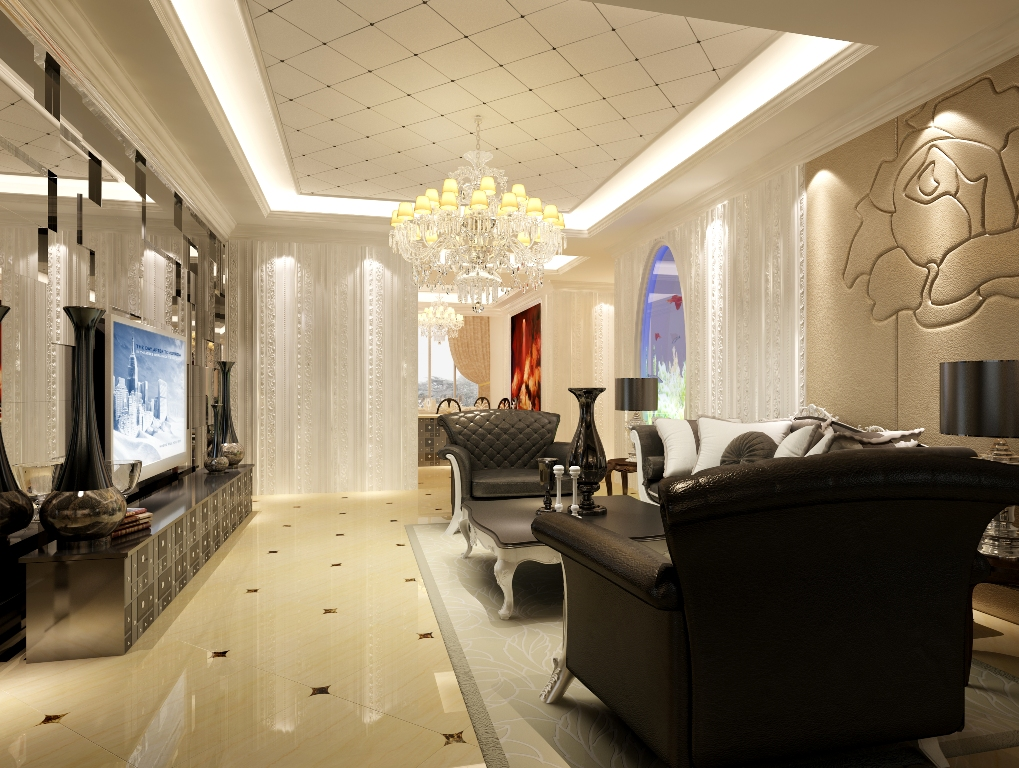 Comfortable Living Room Luxury