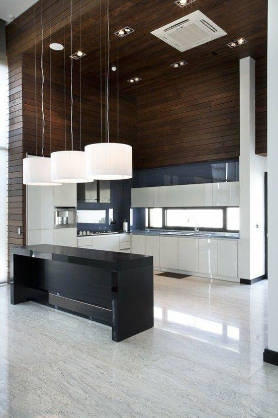 Loft appartment kitchen