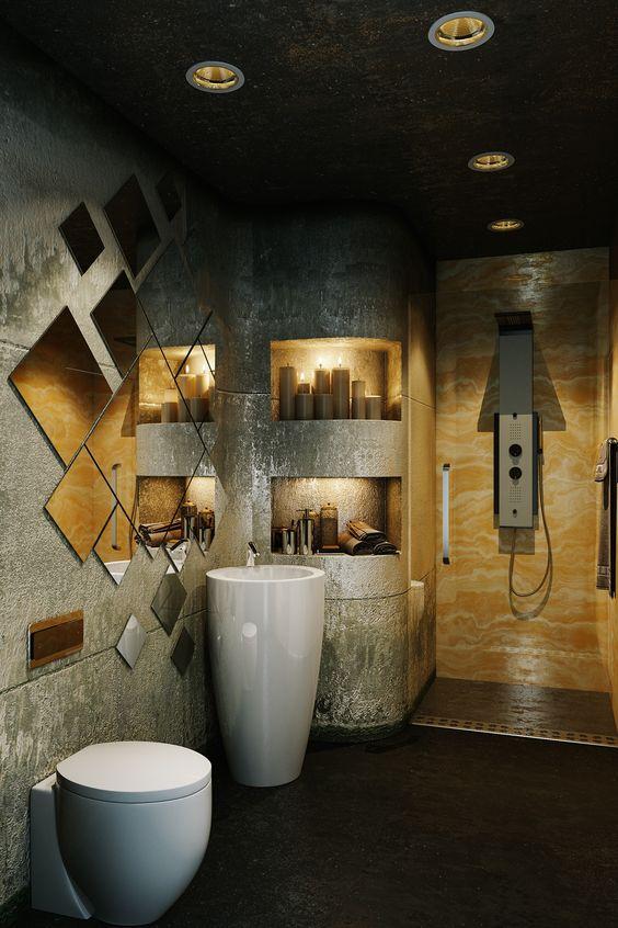 beautiful small bathroom