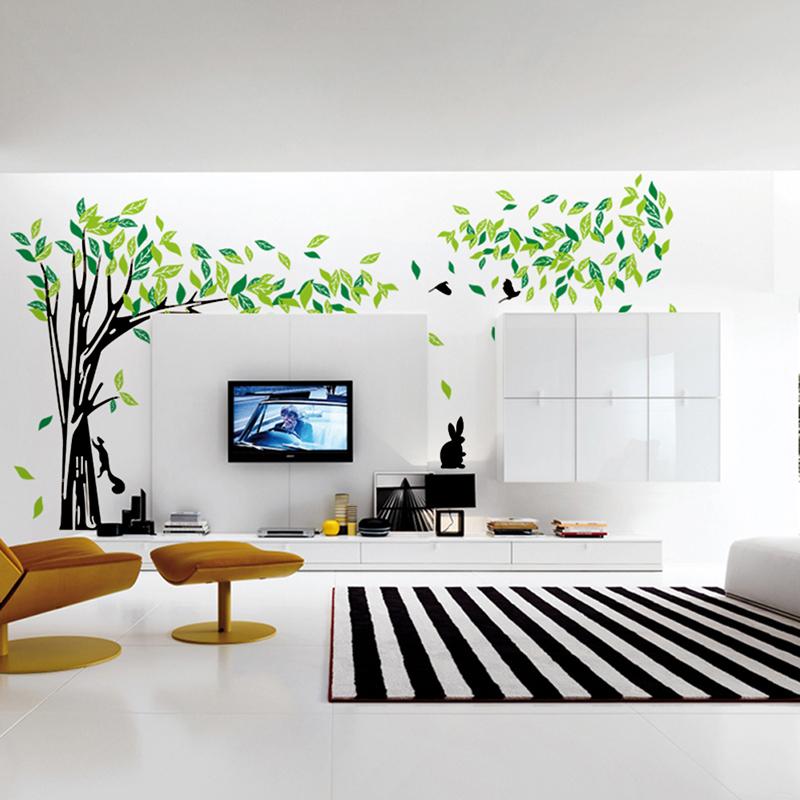 Green-Tree-Wall-Sticker-Vinyl-Living-Room